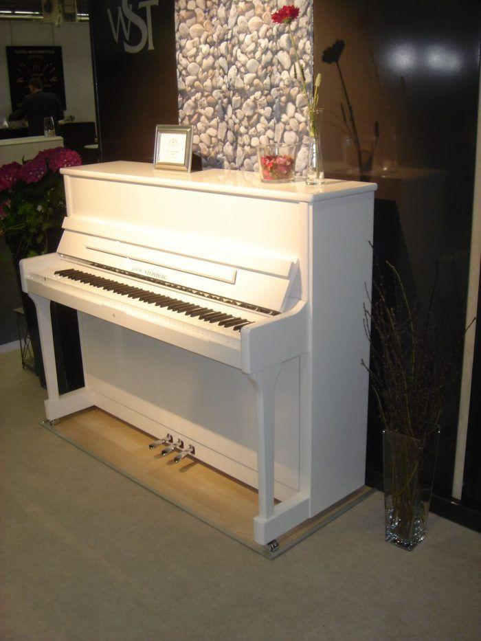 Wilhelm Steinberg Piano P121 Blanco